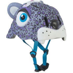 Crazy Safety Leopard Helm lila